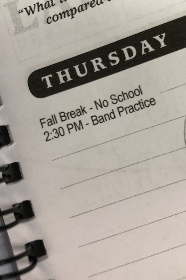 Caption: Fall break was on Oct. 24th. Students did many activities over their break.