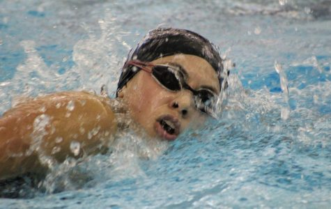 Swimming into senior year