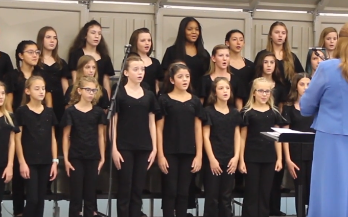 Clark middle school choir concert