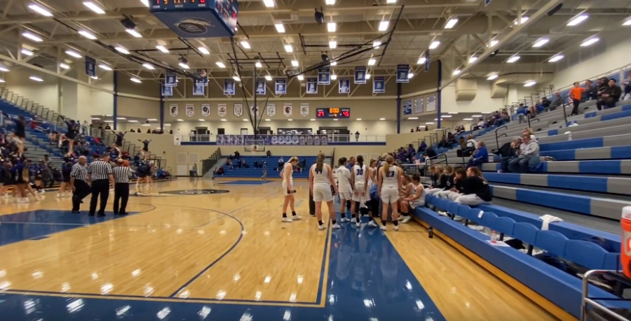 12/6/19 Girls varsity basketball