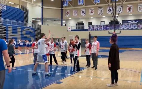 Westlake basketball game