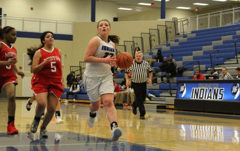 JV girls basketball scores win during game against Morton