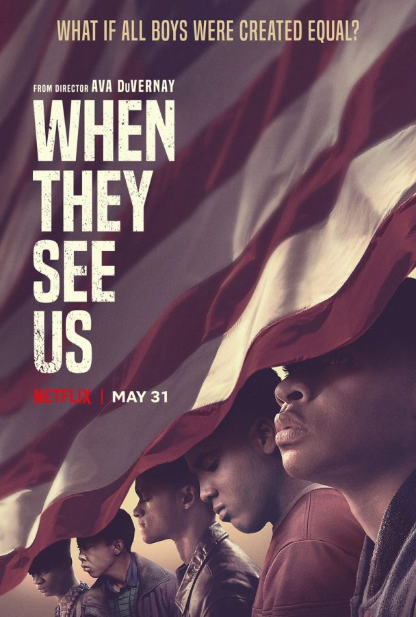 When They See Us tells the true story of five young boys who are coerced into saying they are at fault for the rape of a young woman. The boys struggled with keeping sane during their trials and years locked away.