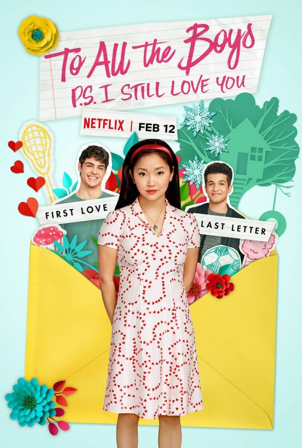 To All the Boys: P.S. I Still Love You is the sequel to To All the Boys I've Loved Before based on the novel series by Jenny Han.  The main character, Lara Jean is played by Lana Condor.