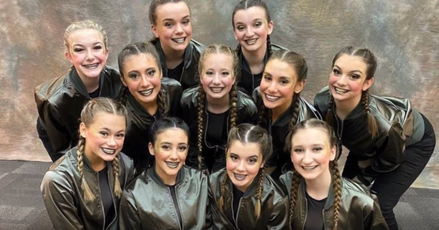 JV dance McCutcheon invitational