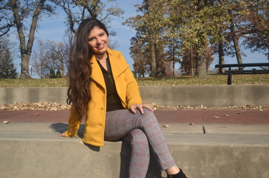Clarissa Moreno (10) involves herself in many clubs, including Sophomore Class Cabinet and her own youth group. She managed her time by prioritizing  different clubs before others.