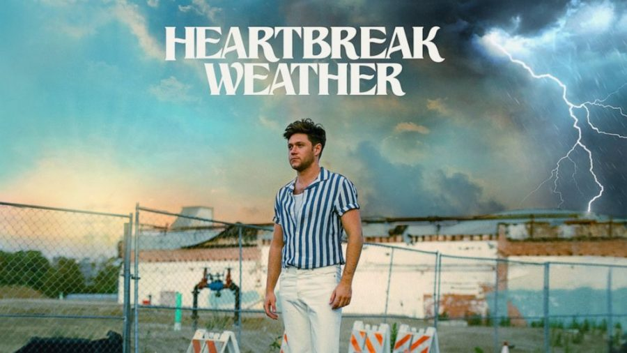 Niall+Horan+returns+with+his+2nd+studio+album%2C+Heartbreak+Weather.+This+album+shows+Horan%E2%80%99s+feelings+throughout+the+course+of+his+new+relationship.%0A%0A