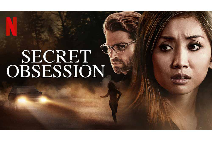 Secret Obsession is a psychological thriller. The film was released in 2019 on Netflix starring Brenda Song.