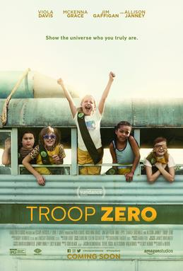 Troop Zero is an Amazon original movie which focuses on Christmas Flint, a nine-year-old girl who is bullied for being different. The movie was released on Feb. 1, 2019 at the Sundance film festival.