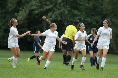 JV Girls Soccer Shutout