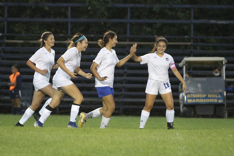 9/8/2020: Girls Varsity Soccer vs Bishop Noll