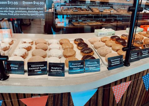 Rise and Roll opened up October 2019 with a variety of donuts. The top three donuts were full of flavor.