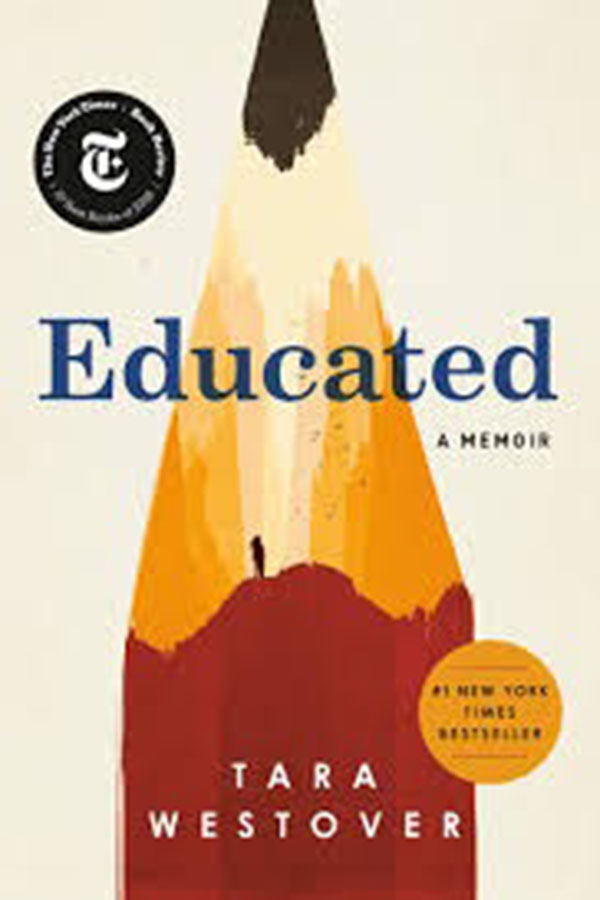 Educated+is+a+memoir+by+Tara+Westover.+It+tells+the+story+of+her+unique+childhood+and+her+journey+with+family+and+education