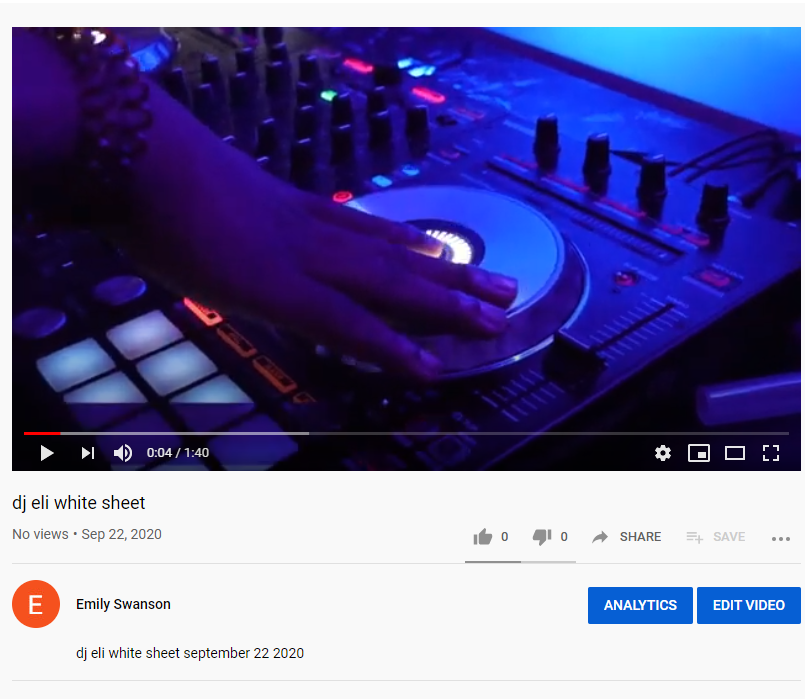 An up and coming dj