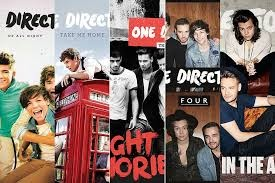 One Direction's sold albums included Up All Night, Take Me Home, Midnight Memories, Four and Made in the A.M.  They sold one album per year between 2011 and 2015.