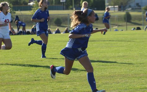 JV Girls Soccer defeated by Munster