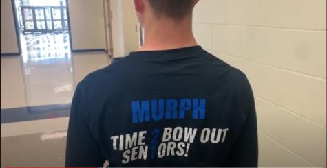 Seniors on senior shirts