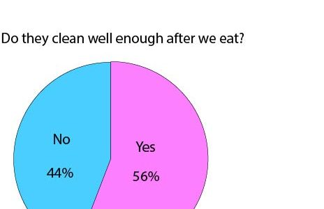 Do they clean well enough after we eat?: Poll
