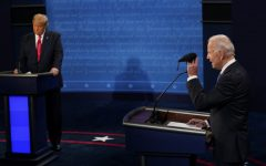 Navigation to Story: Biden v. Trump: Their stances on key issues during the final presidential debate