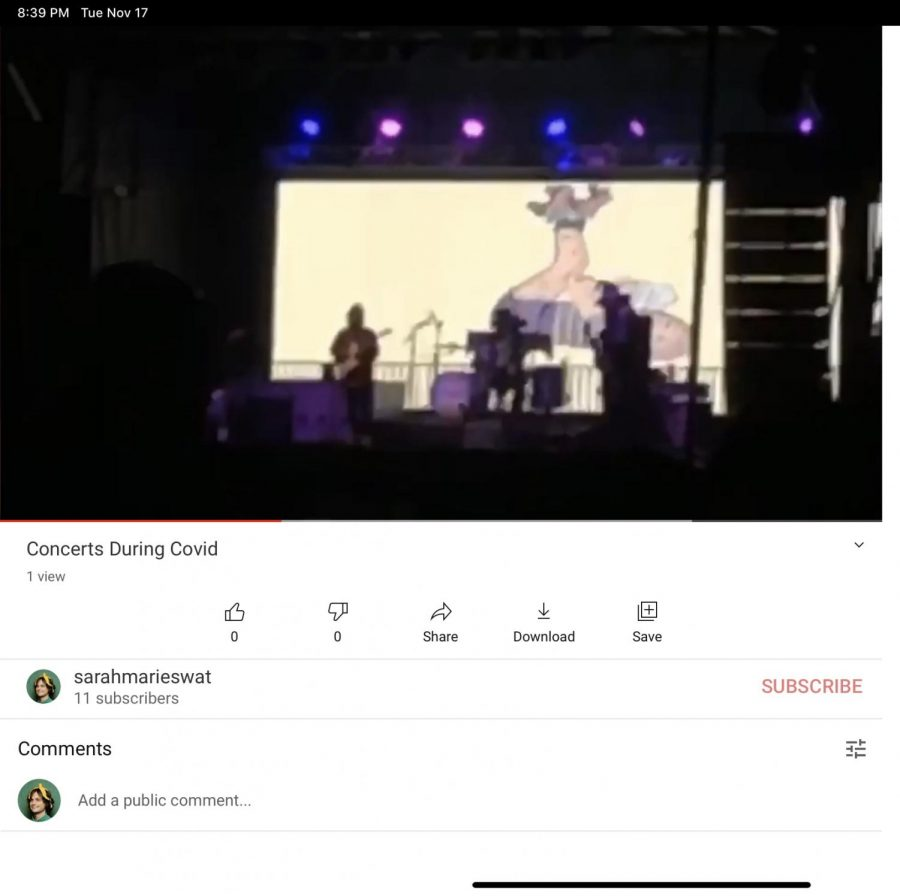 Concerts during COVID