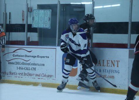 Lake central varsity hockey played their rivals on Friday November 13th