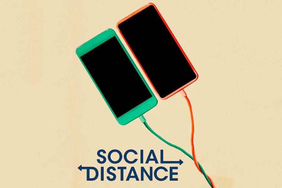 Social+Distance+is+a+show+on+Netflix+about+life+during+COVID-19.+It+was+filmed+in+quarantine%2C+with+the+family+members+being+cast+as+actors+and+actresses.%0A