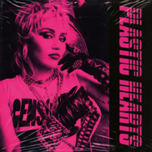 Plastic Hearts is Miley Cyrus's seventh studio album, which was released on Nov. 27, 2020. This was Cyrus's first electric pop/punk rock album.
