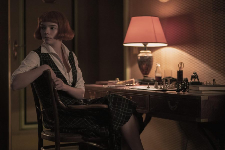 Anya Taylor-Joy stars as Beth Harmon in Netflix's most popular limited series, The Queen's Gambit. The show followed Harmon as she navigated the world of chess in the 1960s. (Phil Bray/Netflix)