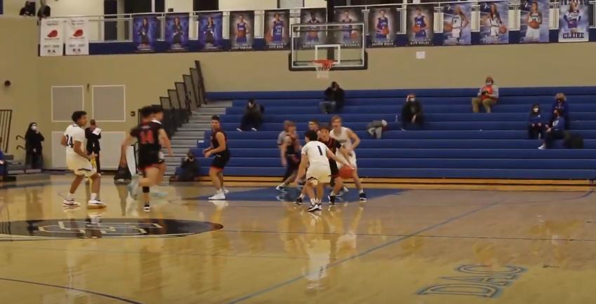 Boys varsity basketball v LaPorte