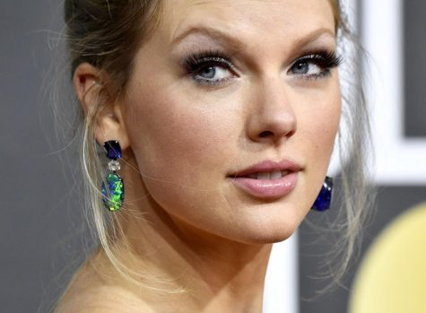 Taylor Swift in January 2020 at the Golden Globe Awards in Beverly Hills, Calif.