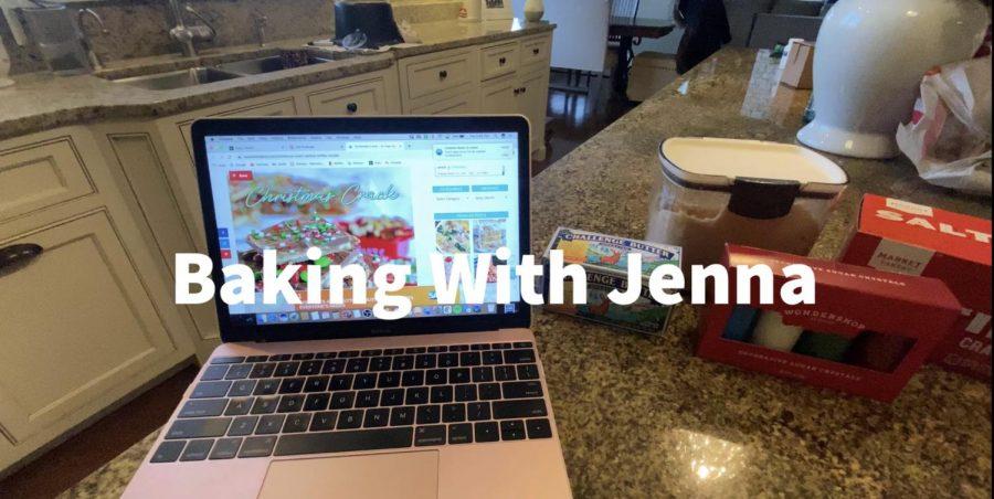 Christmas baking with Jenna