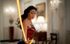 Wonder Woman uses her lasso of truth. Gal Gadot trained extensively for this role.