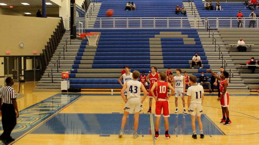 Indians Dominate Munster Mustangs!: JV boys basketball