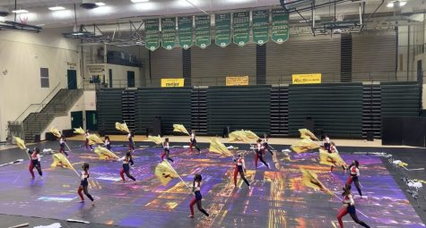 Lake Central Colorguard Competition