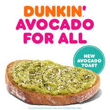I tried the Dunkin´ Donuts Avocado Toast- Here
