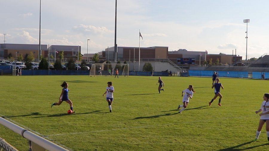 JV Girls Soccer vs. Highland