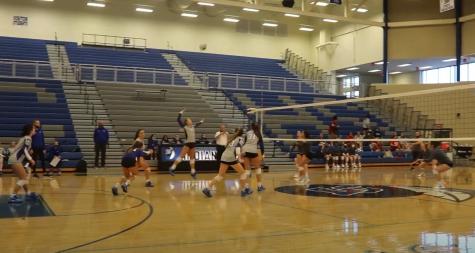LC JV Volleyball team beats Portage 9/28