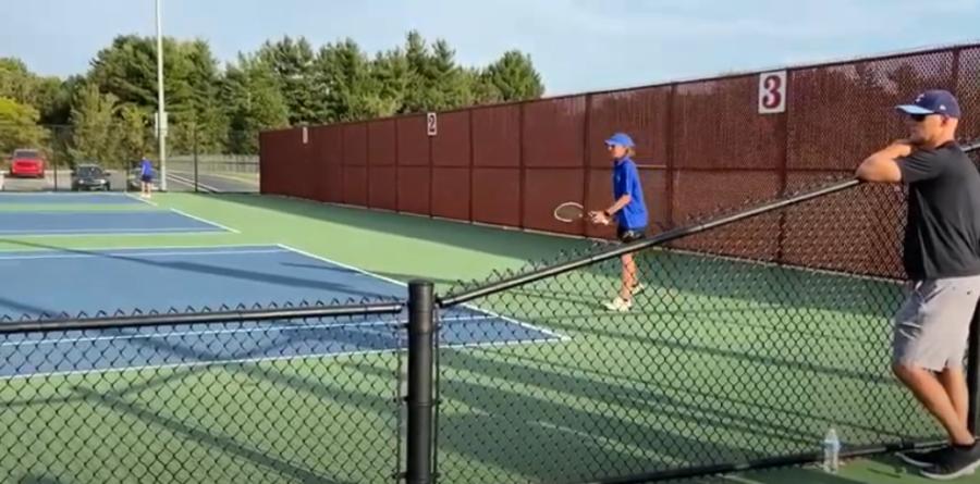 Lake Central Boys Tennis Match 9/30/21