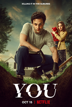 """""""You"""" season three takes over Netflix's top charts once again. Like the previous season, stars Penn Badgley and Victoria Pedretti took the streaming world by creating a horrifying twist on love and relationships."""