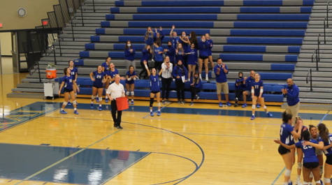Lake Central Girls Volleyball Takes on Munster